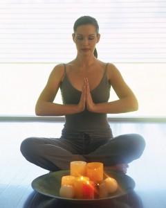 Image of Yoga pose, copyright Microsoft