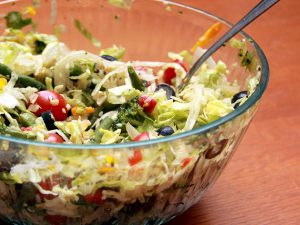 Image of a bowl of salad