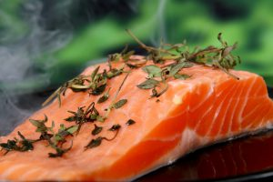 An image of a salmon filletAn image of a salmon fillet